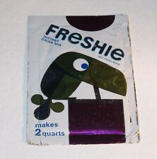 1966 FRESHIE Drink Mix package Cartoon Toucan Canadian RARE