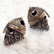 EDC Paracord Bead Beads Charm Zombie Viking Skull for Bracelet Lanyard KeyChain