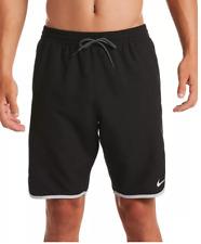 New listing NWT Nike Men's Large Diverge Volley Swim Shorts Black Swimwear Size L