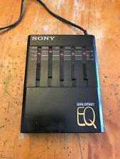 Sony Seq-50 Walkman EQ Stereo Graphic Equalizer Vtg 1980's
