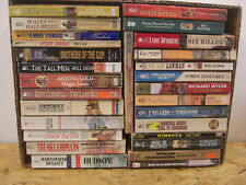 Lot Of 28 Mix Western Fiction Paperback Novels Louis L'amore & other authors