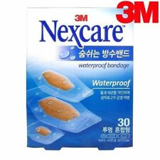 3M Nexcare Waterproof Clear Assorted Bandages - 1 Pack (30 Count)