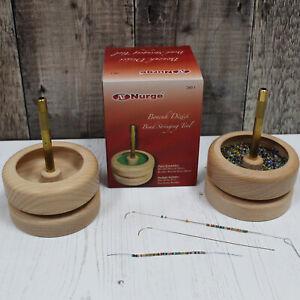 Nurge Jewellery Making Seed Beading Stringing Spinner Bowl Friendship Bracelet