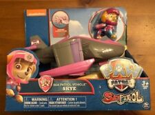 NEW Paw Patrol SKYE & BOAT Sea Patrol Vehicle Transforms to PLANE