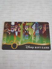 Disney 13 Reflections Of Evil Pin & Vinylmation Event VILLAINS GIFT CARD Gaston+