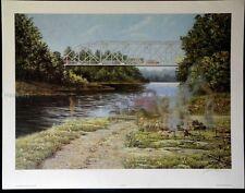 "Landscape-James Lumbers-""Different Times""-Ltd.Ed.-Signed Lithograph-Art-Prints"