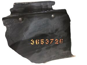 1940 Chevrolet Lower Chin And Inner Support With Radiater Baffel