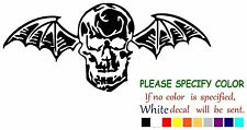 Avenged Sevenfold Death Bat Graphic Die Cut decal sticker Car Truck Boat 12""