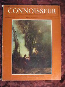 THE CONNOISSEUR Magazine December 1958 J B C Corot Caravaggio Francesco Ladatte