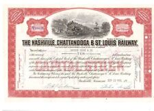Nashville Chattanooga & St. Louis Railway 1952