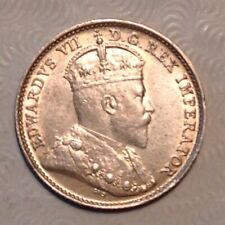 1908 Canada  Edward VII  Five 5 Cents