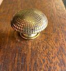 Antique Brass Drawer Pulls Gold Tone Vintage Cabinet Door Dresser Knobs Lot of 2