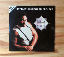 "CD AUDIO/ CAPTAIN HOLLYWOOD PROJECT ""ONLY WITH"" CD SINGLE 1993 CARD SLEEVE  2 T"