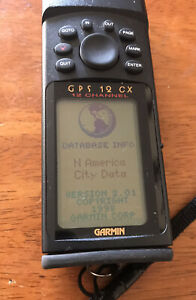Garmin GPS 12 CX Handheld 12 channel Personal Navigator GPS Free Shipping