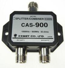 CAS-900 COMET Antennen Splitter / Combiner für 2 Empfänger an einer Antenne