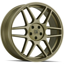 New Listing4 Touren Tr74 17x8 5x108 40mm Matte Gold Wheels Rims 17 Inch Fits More Than One Vehicle