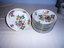 "12 Vtg. Mikado China (Occupied Japan) ""Mandalay"" 7 3/8"" Coupe Soup Bowls - Exc"