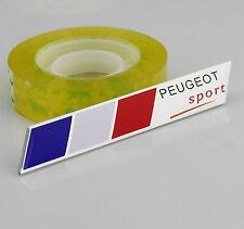 Auto Car Alu Schriftzug Aufkleber Emblem Plakette für Frankreich sports  NEU