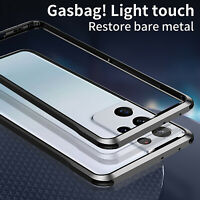 For Samsung Galaxy S21 Ultra/Plus/S21 Metal Frame Bumper Case Cover Protection