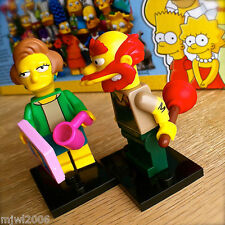 LEGO 71009 THE SIMPSONS Minifigures EDNA & GROUNDSKEEPER WILLIE Series 2 SEALED