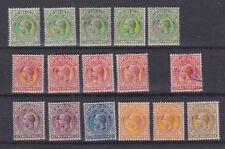 Falkland Islands 1912-20 Mint MLH/MH Part Set Definitives King George V 1/2d-1s