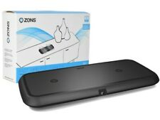 Zens Dual Qi Fast Rapid Wireless Smartphones & Devices Charger Pad Plate - Black