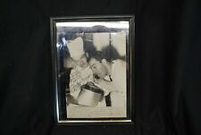 Rocky Marciano Framed Under Glass Picture Signed No Coa -A10