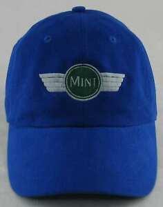 AUSTIN MORRIS MINI COOPER S HAT BLUE CAP NEW