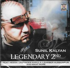 SUNIL KALYAN - LEGENDARY 2ND - NEW BHANGRA CD - FREE UK POST
