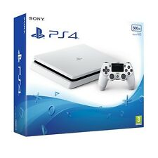 PS4 Slim 500GB Glacier White Console