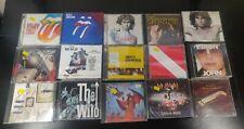 New ListingRock 15 Cd lot- The Doors the Who Rolling Stones Def Leppard Van Halen Meat Loaf