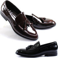New Mooda Modern Formal Tassel Loafers Slips on Leather Men Dress Shoes Nova
