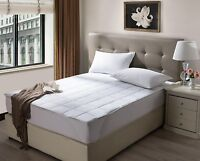 Ultimate Waterproof Mattress Pad 200 Thread Count Cotton Rich Fabric