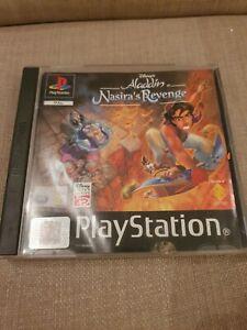 Disney's Aladdin in Nasiras Revenge PlayStation PS1 Black label PAL