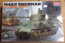 1/35 Academy #13010 M4A2 Sherman Tank Russian Army Kit New Sealed