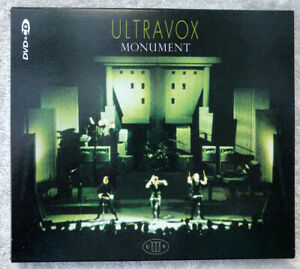 Ultravox - Monument The Soundtrack - CD/DVD Definitive Edition - CUXX1452 - 2008