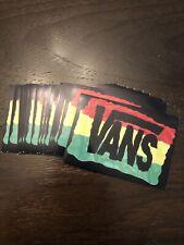 Vans Rasta Stickers Qty 16