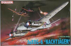 Dragon 5509 1/48 Junkers Ju 88 G-6 'Nachtjäger' model kit