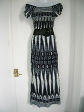 NEW LOVELY SIZE 14 16 MAXI DRESS CRUISE SUMMER PARTY NIGHTS OUT HOLIDAY BEACH XL