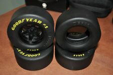 Lego Large Tire x4 with GOODYEAR EAGLE lettering - NEW FITS LEGO 44772 and 15038