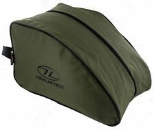 Highlander Olive Universal Walk Boot Bag - Case Hiking Military BOOTS Ta039