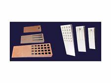 Fiberglass Layup Mold & Part Release Parting Wedge Kit #3  6pc Set  CBS-WK3