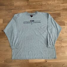 Vintage 2000's Nike Team UConn Soccer Center Swoosh Check Long Sleeve T-Shirt XL