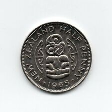 Nueva Zelanda Half Penny 1965 Elizabeth II