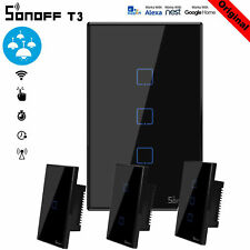 Sonoff T3 New Smart Home WiFi US Panel Touch Switch Wall Remote Control Light US