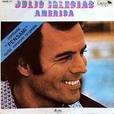 """Julio Iglesias – America - 12"""" LP 33 rpm - 1979 EX+"""