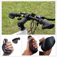 Ergonomic Comfort Bicycle Bike Cycling Anti-Skid Rubber Ergo Handlebar Grips