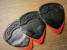 Dava 1303 Delrin Grip Tips Guitar Pick 3-Pack
