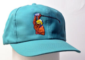 Young Gun Headwear Teal Retro Look Vintage Golfing Hat (Pre-owned)
