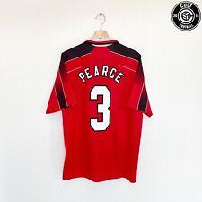 1996/97 PEARCE #3 Nottingham Forest Vintage Umbro Home Football Shirt (XL)